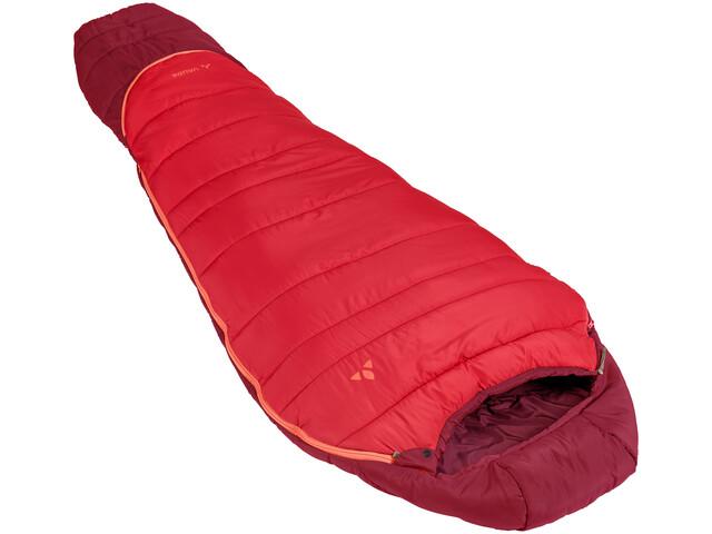 VAUDE Kobel Adjust 500 Syn Sovepose Børn, dark indian red